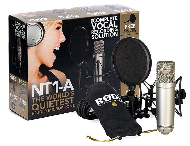 Micrófono de condensador XLR