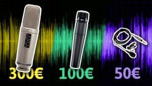 Comparativa de micros para voz: Rode NT2A VS Rode Smartlav VS Shure SM57