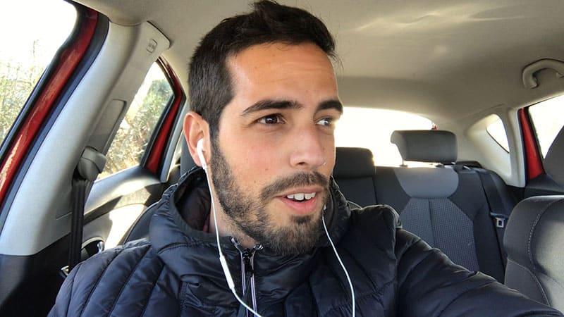 Grabar podcast en el coche