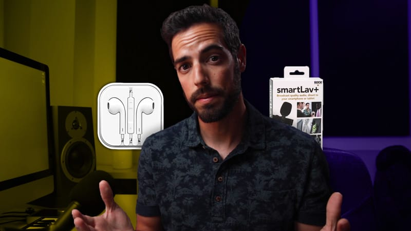 ¿Mejor micro portatil? Rode Smartlav+ vs Apple Earpods