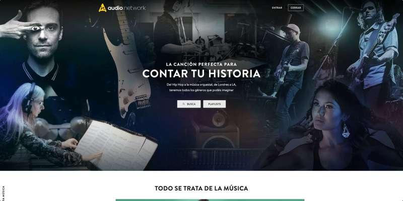 Audionetwork-web