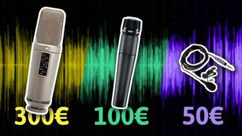 Comparativa-de-micros-para-voz-Rode-NT2A-VS-Rode-Smartlav-VS-Shure-SM57