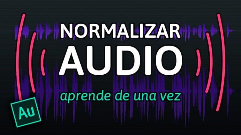 Normalizar audio en Adobe Audition