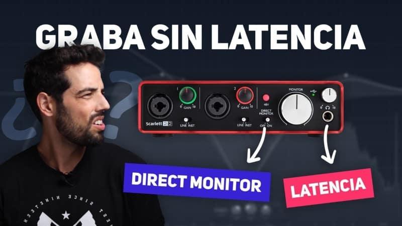 eliminar latencia audio